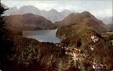 Hohenschwangau Schwangau Schwaben Bayern ~1920 Blick v.d. Jugend Berg Panorama