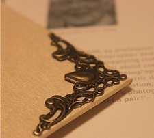 4 x Decorative Corner Embellishments Book, Jewellery Boxes, Frames, Menus