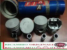 Kit 4 Pistoni Pistone FIAT 127 Magg. + 0,2 new Original Kit 4 Pistons Set