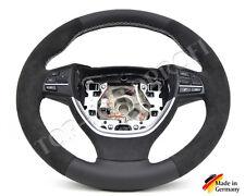 BMW F01 F02 F10 F11 F07 F12 F13 M Sport Lenkrad neu beziehen mit Alcantara