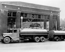 "1930's Autocar Dealership Road Tractor Tanker Semi Truck Rig 8""x 10"" Photo 46"