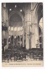 paray-le-monial  , intérieur  de la basilique