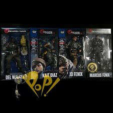 GEARS of WAR 4 Action Figure SET Marcus JD Fenix KAIT Diaz DEL Walker McFARLANE!