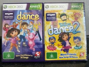 xbox 360 NICKELODEON DANCE GAMES Brand New - Make your selection