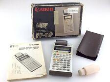 Canon FP-11P Scientific Statistical Printer Calculator Made In Japan R279
