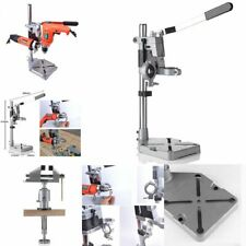 Electric Drill Stand Power Rotary Tools Double Clamp Drill Holder Bench Drill
