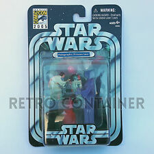 STAR WARS Kenner Hasbro Action Figure - OTC - Holographic Leia SDCC Exclusive