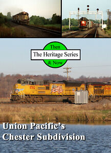 Train DVD: Then & Now, Southern Pacific and Union Pacific Mainline Action