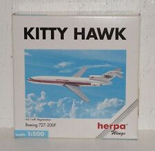 HERPA WINGS Kitty Hawk Boeing 727-200 F avec registration 1:500 503105 (r2_2_59)