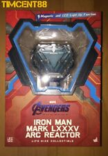 Ready Hot Toys LMS010 Avengers Endgame Iron Man Mark LXXXV Arc Reactor Life-Size