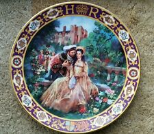 RARE Royal Doulton Kings & Queens Of The Realm Henry VIII Anne Boleyn Plate.