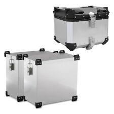 Alu Koffer Set + Topcase für Honda NC 700 X / 750 X NX55 silber
