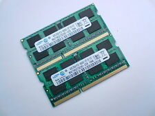 8GB 2x4GB DDR3-1066 PC3-8500 SAMSUNG M471B5273CH0-CF8 LAPTOP MEMORY SPEICHER