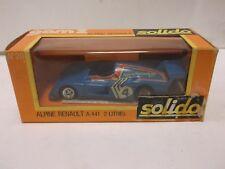 Solido Gam 2 No.20 Alpine Renault In Blue 1:43 Scale