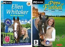 Ellen Whitaker il mistero di Cavallo & Pippa Funnell prendere le redini NUOVO e SIGILLATO