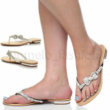 Block Heel Flip Flops Synthetic Shoes for Women