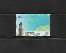 2019 Union Postal Caribbean Conference map Stamp Caribbean Island Mnh