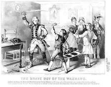 US President Andrew Jackson Brave Boy of Waxhows 1780 Revolution 7x5 Inch Print