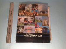 Walt Disney World Magic Kingdom Club Collectors Packet 1980's