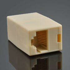 Newtwork Ethernet Lan Cable Joiner Coupler Connector RJ45 CAT 5 5E Extender Plug