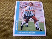 BATISTUTA ARGENTINA FIGURINA DS STICKERS FRANCE 98 WORLD CUP new