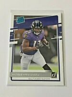 2020 Panini Donruss Football Rated Rookie - Devin Duvernay RC - Baltimore Ravens