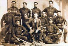 1896 Page Fence Giants Team PHOTO Negro League Baseball Team Black Players