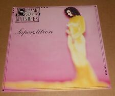 Siouxsie & The Banshees Superstition 2-sided Promo Flat 12x12