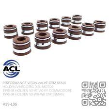 ACL VITON VALVE STEM SEALS V6 ECOTEC 3.8L [HOLDEN VS-VT-VU-VX-VY COMMODORE] NOS