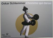 OSKAR SCHLEMMER  - Carton d invitation - 2016
