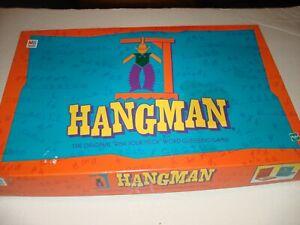 Milton Bradley Hangman Game Hasbro Vintage 1999 ~~ 100% Complete / CLEAN L@@K