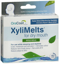 XYLIMELTS DRY MOUTH DISCS 40CT   X 4