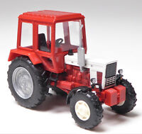 H0 BUSCH Traktor Belarus MTS - 82 Allrad Exportversion Bedruckung # 51302