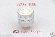 2piece*12AX7 ECC83(top adapter) TO 6N2 6H2N(Bottom) tube CONVERTER ADAPTER