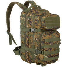 Mil-tec Petit 20l Molle Sac À dos US Assault Pack militaire Woodland MARPAT Camo
