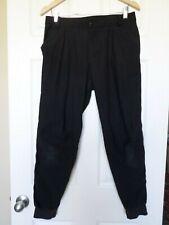 Lululemon mens black dress joggers pants size 32