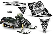 Ski Doo Rev Decal Graphic Kit Ski-Doo Sled Snowmobile Sticker Wrap 03-09 HAVOC W