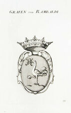 1818 stemma di Rambaldi RAME tyroff chiave