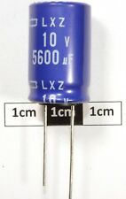 KMG250VB10M TOP Quality Capacitor 10uf 25v High Temperature 105/'c 20 per sale