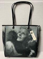 NEW Jean Harlow Sparkle Shoulder Bag 2003 Black and White Purse