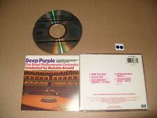 Deep Purple Concerto for Group and Orchestra (Live Recording, 1990) cd Ex/NrM