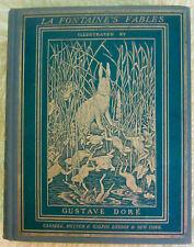 """The Fables of La Fontaine"", Illustrator:Gustave Doré,English Translation,1870"