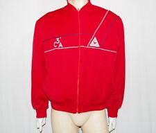 Le Coq Sportif felpa vintage uomo TG XL rosso usata e originale