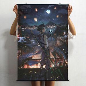 Hot Anime Poster Genshin Impact Xiao Wall Scroll Home Decor 60*90cm YS65