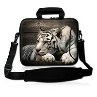 """Tiger 17"""" 17.3"""" 17.4"""" Laptop Shoulder Bag Case Cover For Dell HP ACER ASUS Sony"""