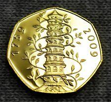 BRAND NEW KEW GARDENS SOUVENIR COIN.ALBUM FILLER.COIN HUNT.50P COLLECTORS.GOLD