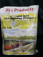 Rix (HO-Scale) #628-0123 Wrought Iron 150' Highway Overpass - NIB