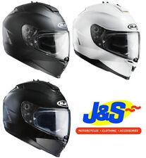 Full Face Plain HJC Motorcycle Helmets