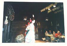 Vintage Photography PHOTO GERMAN FOLK DANCER GIRLS ENTERTAINING CHINESE TOURISTS