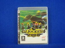 ps3 G1 JOCKEY 4 2008 Horse Racing Game Playstation 3 PAL